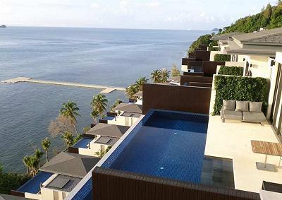 サムイ島の高級ホテルconrad1