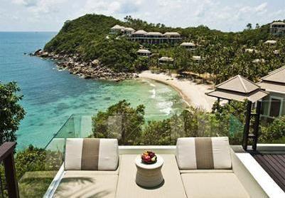 サムイ島の高級ホテルbanyan1