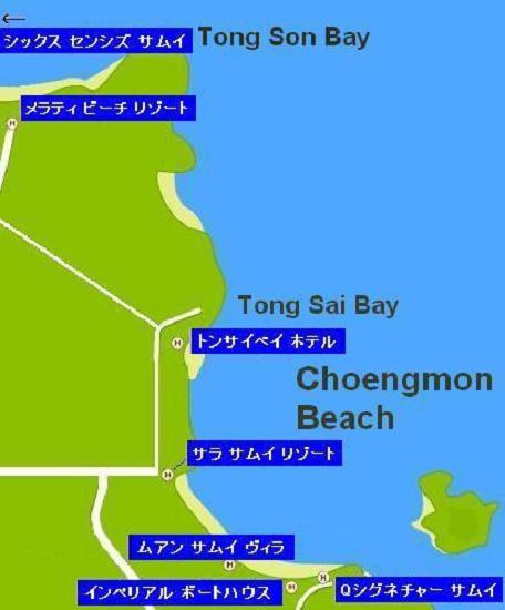 サムイ島の地図-チョンモン ...