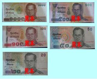 タイの通貨と両替