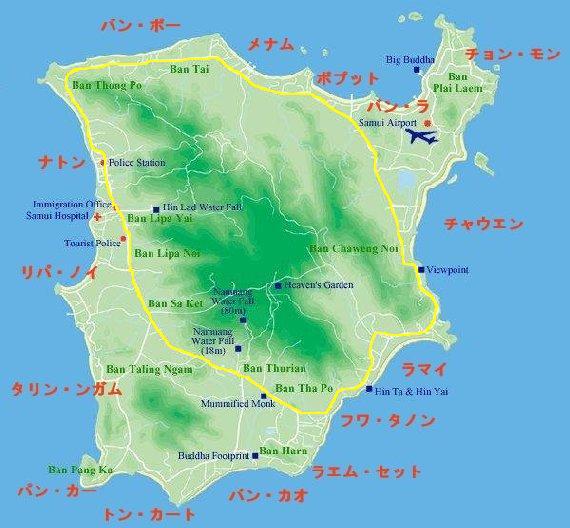 サムイ島の天気と気候