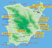 サムイ島の地図-サムイ島の全体地図
