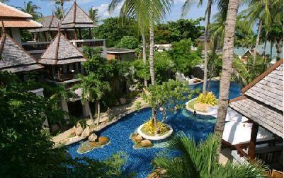 サムイ島のホテルmuang3