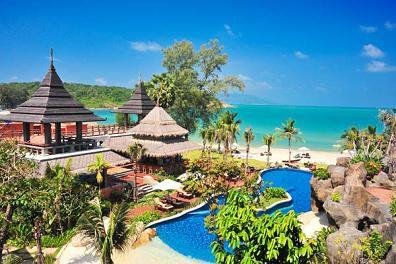 サムイ島のホテルmuangvilla1