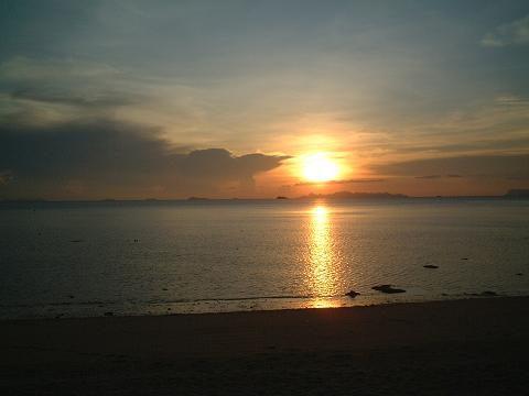 サムイ島の地図・サムイ島サンセットビーチの写真4
