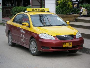 サムイ島のタクシー