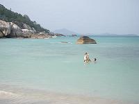 サムイ島観光-クリスタルビーチ