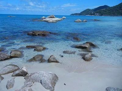 サムイ島のチャウエンノイビーチ016