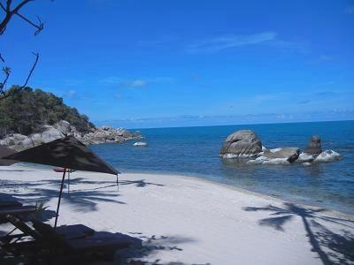サムイ島シーラワディーのビーチ16