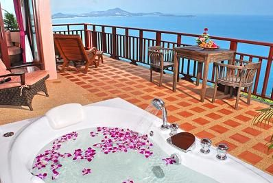 サムイ島のヴィラホテル10