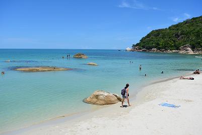 サムイ島のクリスタルビーチ20