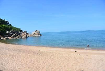 サムイ島のコーラルビーチ08