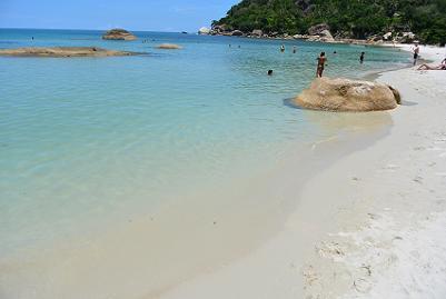 サムイ島のクリスタルビーチ13