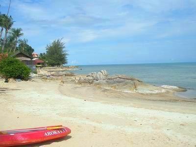 サムイ島フワタノンのビーチ5