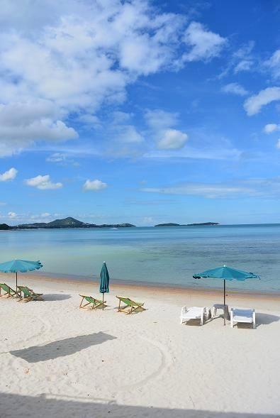 サムイ島ブーコ前のビーチ16