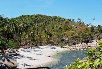 サムイ島シーラワディーのビーチ03