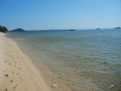 サムイ島の写真・サンセットビーチ006