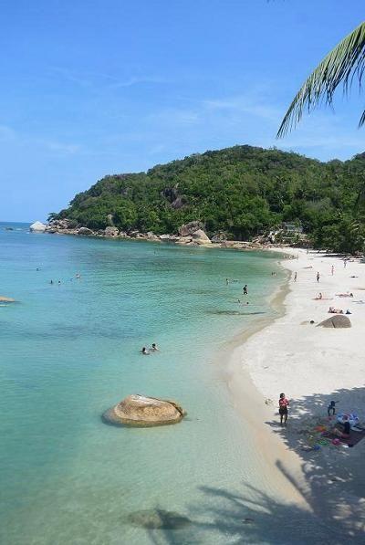 サムイ島のビーチ、クリスタルビーチ03