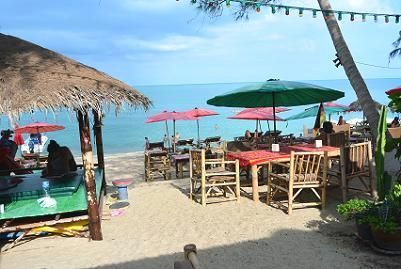 サムイ島のラマイビーチ22
