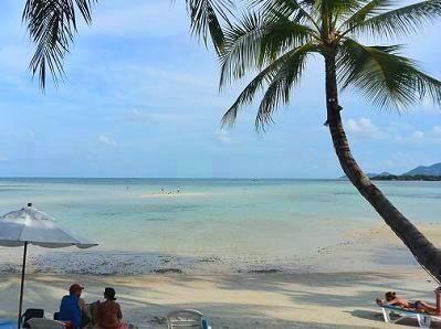 サムイ島チャウエンビーチ北郊外9