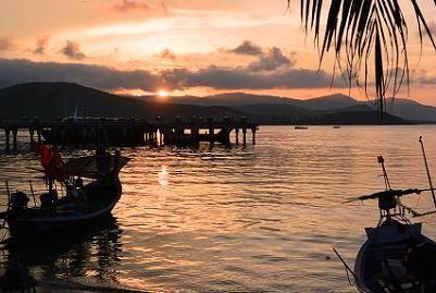 サムイ島の夕日5