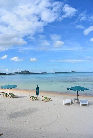 サムイ島ブーコ前のビーチ01