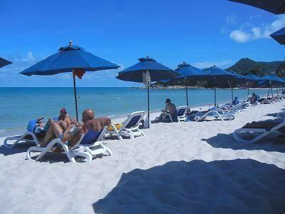 サムイ島サムイ・リゾテルのビーチ17