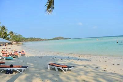 サムイ島のチャウエンビーチ北郊外24