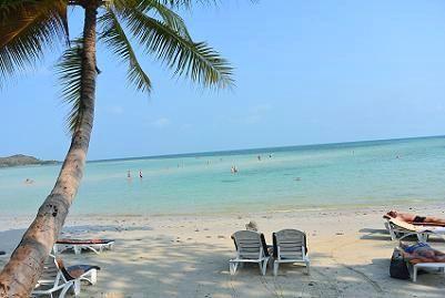 サムイ島のチャウエンビーチ北郊外14