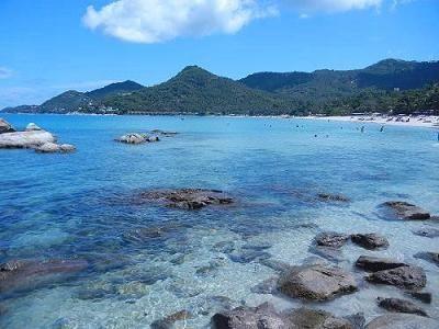 サムイ島のチャウエンノイビーチ019