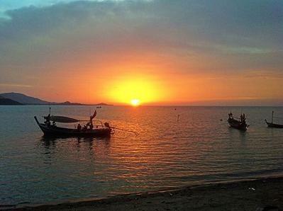 サムイ島の夕日8