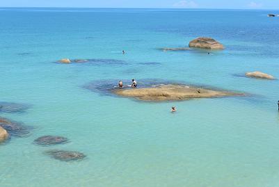 サムイ島のクリスタルビーチ3