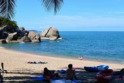サムイ島のビーチ、コーラルベイ10