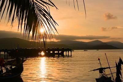 サムイ島の夕日4