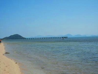 サムイ島の写真・サンセットビーチ028
