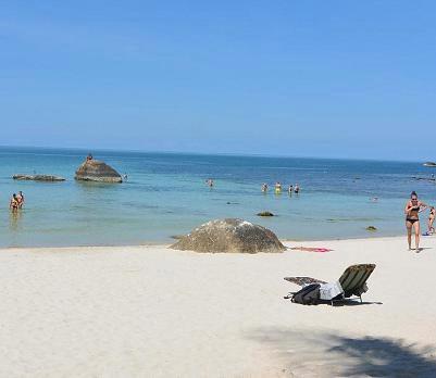 サムイ島のクリスタルビーチ18