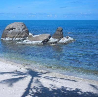 サムイ島シーラワディーのビーチ17