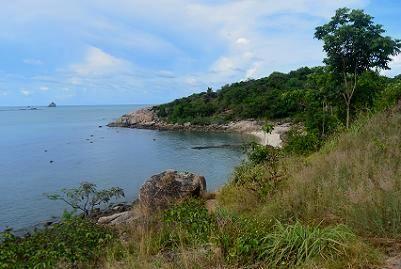 サムイ島トンソンベイのビーチ19