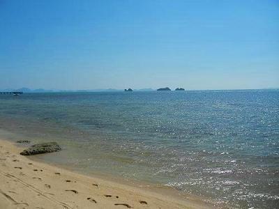 サムイ島の写真・サンセットビーチ024
