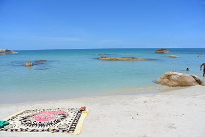 サムイ島のクリスタルビーチ8