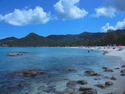 サムイ島のチャウエンノイビーチ018
