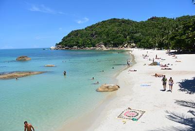 サムイ島のクリスタルビーチ4