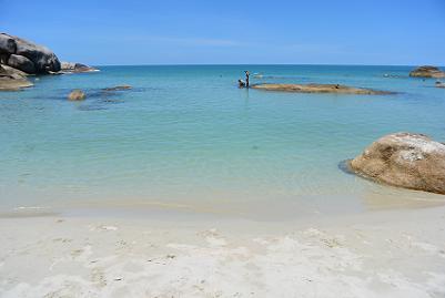 サムイ島のクリスタルビーチ9