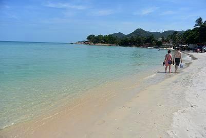 サムイ島のチャウエンビーチ南09