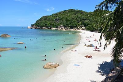 サムイ島のクリスタルビーチ1