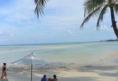 サムイ島チャウエンビーチ北郊外12