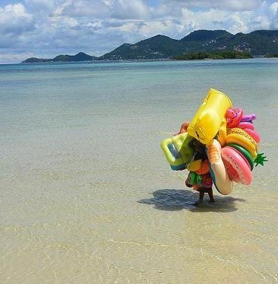 サムイ島 カーサ デ マールのビーチ10