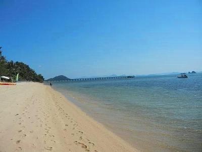 サムイ島の写真・サンセットビーチ027