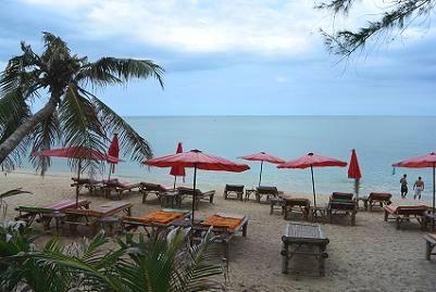 サムイ島のラマイビーチ8
