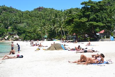 サムイ島のクリスタルビーチ16
